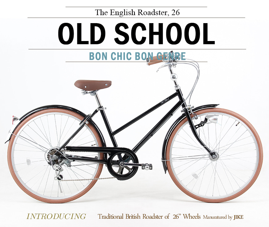 올드스쿨  OLD SCHOOL English Roadster  Black