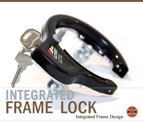 Integrated Frame Lock  Gorin Japan  자전거 프레임락