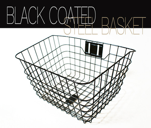 Steel Square BasketBlackmaruish